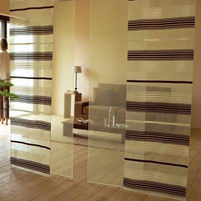 panneaux japonais chocolat cru rideaux pinterest. Black Bedroom Furniture Sets. Home Design Ideas
