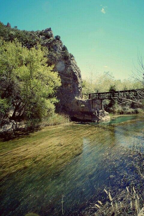 Cuchillos de Contreras y el río Cabriel. Valencia. Spain. Fuji X-E1 Voigtlander Super Wide Heliar 15 mm.