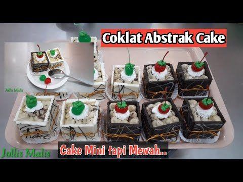 Baru Untuk Varian Jualan Sangat Cocok Coklat Abstrak Cake Cake Mini Potongan Chocolate Cake Youtube Cake Mini Abstrak Coklat