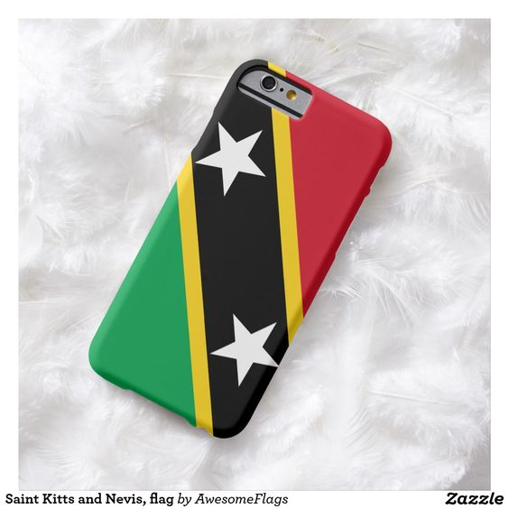 Saint Kitts and Nevis, flag Barely There iPhone 6 Case