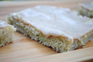National Zucchini Day- Cinnamon Frosted Zucchini Bars @Liting Mitchell Sweets #zucchini