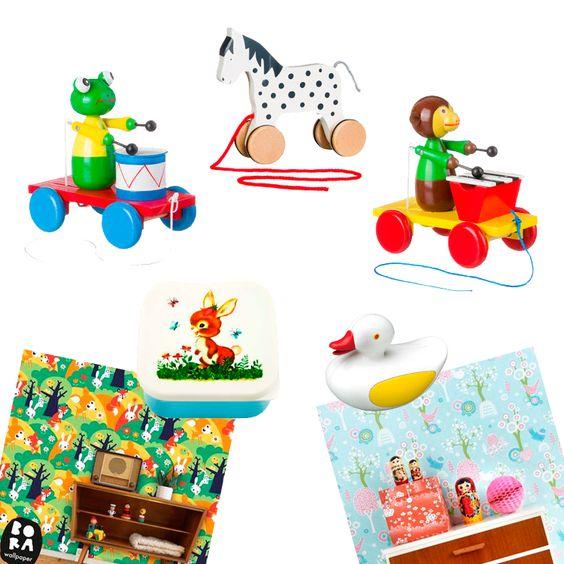 De Oude Speelkamer is een webshop in retro speelgoed en kinderkamer accessoires.