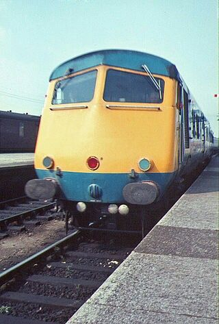 """BLUE PULLMAN"" Class 250 demu, these luxury trains were all withdrawn from…"