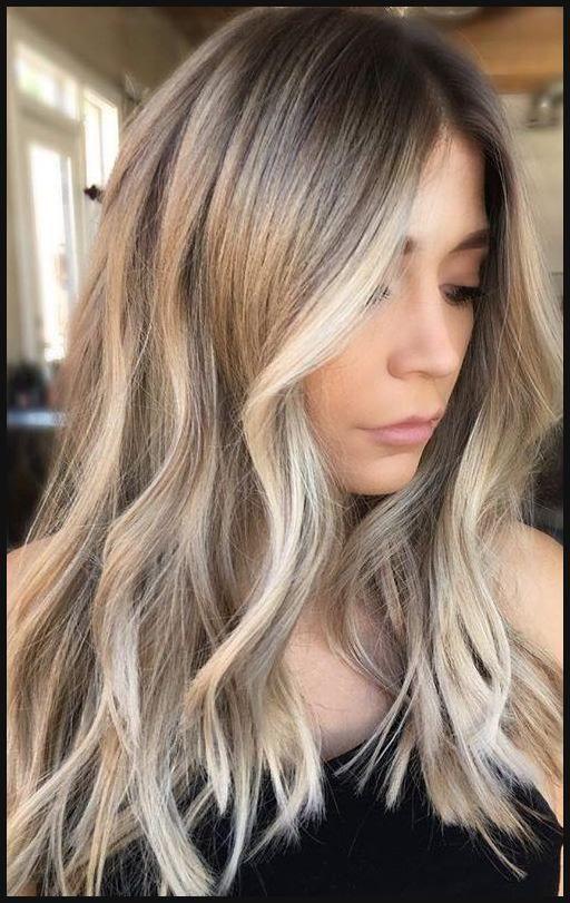 Dunkel blonde haarfarben