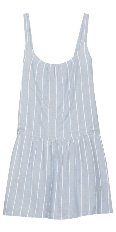 This easy breezy striped cotton Pedaru dress is the perfect thing to throw on for a beach day.