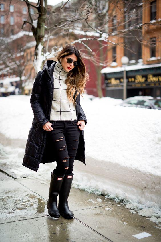 Snow Day - Winter Fashion