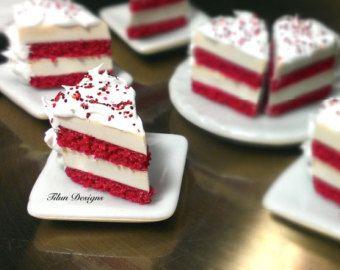 Red Velvet Cheesecake Earrings