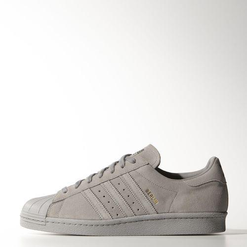 Adidas Superstar Grise Daim