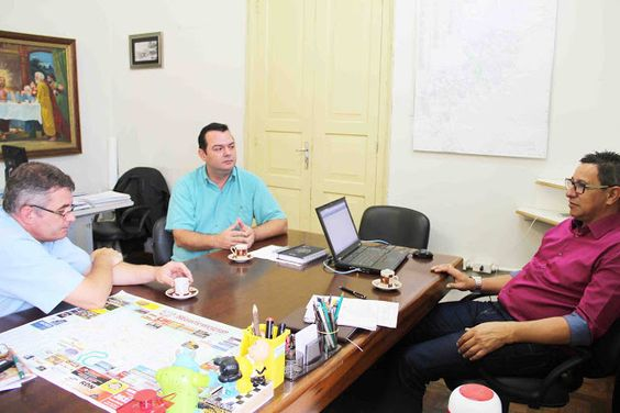 INFORMATIVO GERAL: Valter Robalo com o Presidente do COMCRAD - Consel...