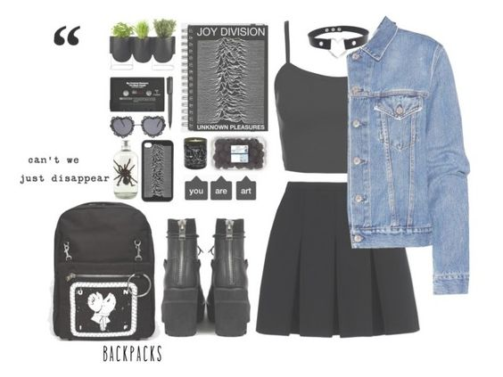 """""""SET 192 \\ A T M O S P H E R E"""" by carolinehaze ❤ liked on Polyvore featuring Alexander Wang, Topshop, Acne Studios, UNIF, Muji, Authentics, Harley-Davidson, Maison Bereto, CASSETTE and backpacks"""
