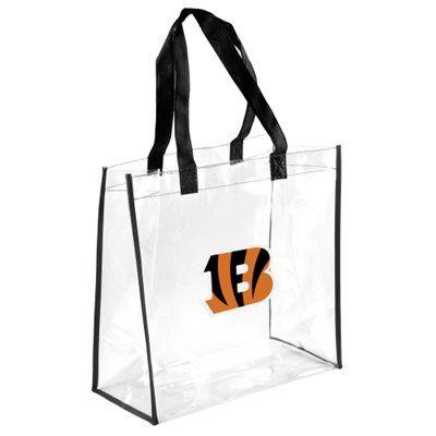 Cincinnati Bengals Clear Reusable Bag ***ALLOWED IN NFL STADIUMS!***