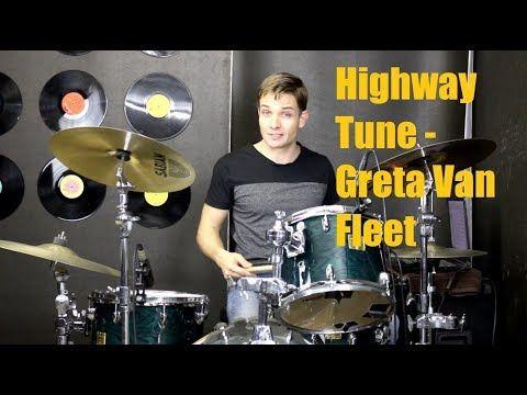 Highway Tune Drum Tutorial Greta Van Fleet Youtube Drums Fleet Tutorial