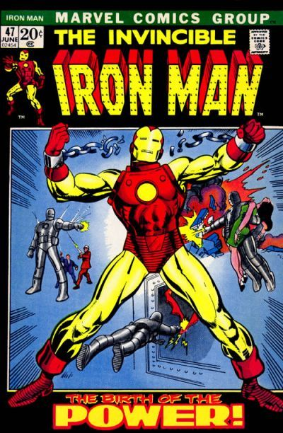 Top Five Most Iconic Iron Man Covers   Comics Should Be Good! @ Comic Book Resources