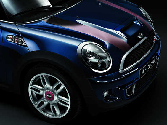 Up close and personal: the MINI Clubman Hampton.