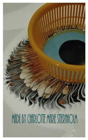 How To Use Strainers For Fluid Acrylic Painting Wonderful