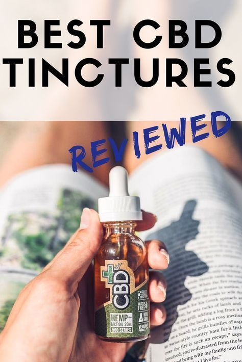 best cbd tincture for anxiety