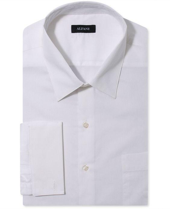 French cuff dress shirts and cuffs on pinterest for Big and tall french cuff dress shirts