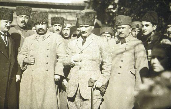 #Ataturk ve Mareşal #FevziÇakmak