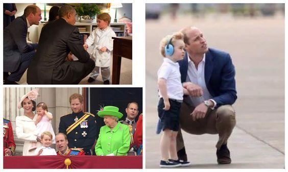 """La prensa internacional siempre está pendiente de la realeza. Y algo que les ha llamado bastante la atención, es que cada vez que el príncipe Guillermo habla con su hijo el príncipe Jorge, él se agacha a su lado. Incluso en una ocasión recibió un """"regaño"""" por parte de su abuela, la reina Isabel II, …"""