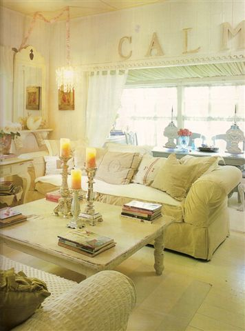 Love the calm in this room
