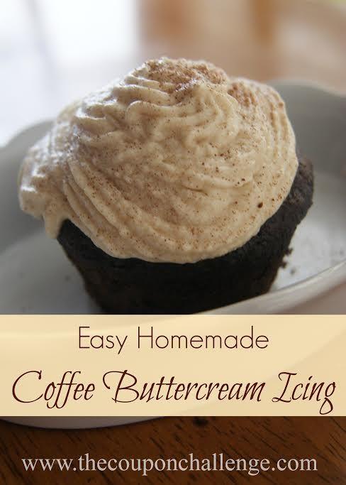 Easy Coffee Buttercream Frosting Recipe