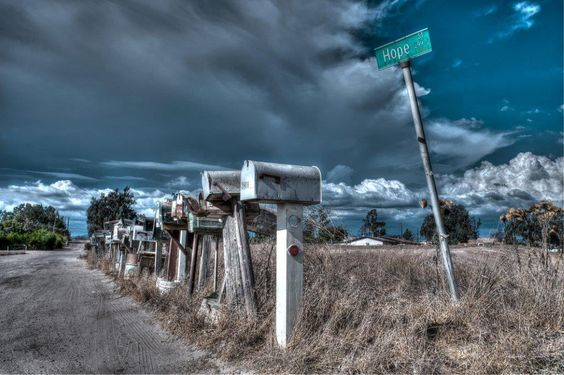 These mailboxes were capture on Hope Street, in Ramona, California. #RKSPhotography #HDR #HopeStree #MailBoxes #Ramona #California