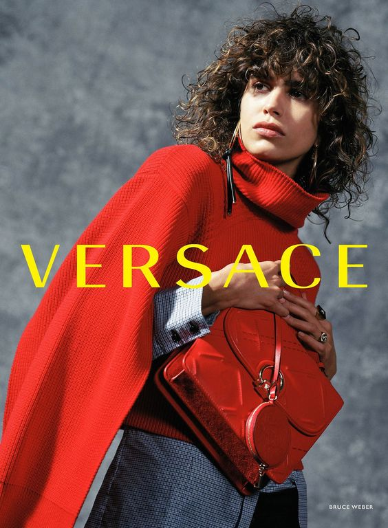 WASD — Ad Campaign: Versace Fall/Winter 2017-2018 Model:...