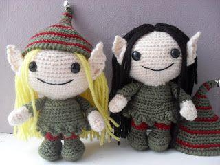 Large Elf crochet