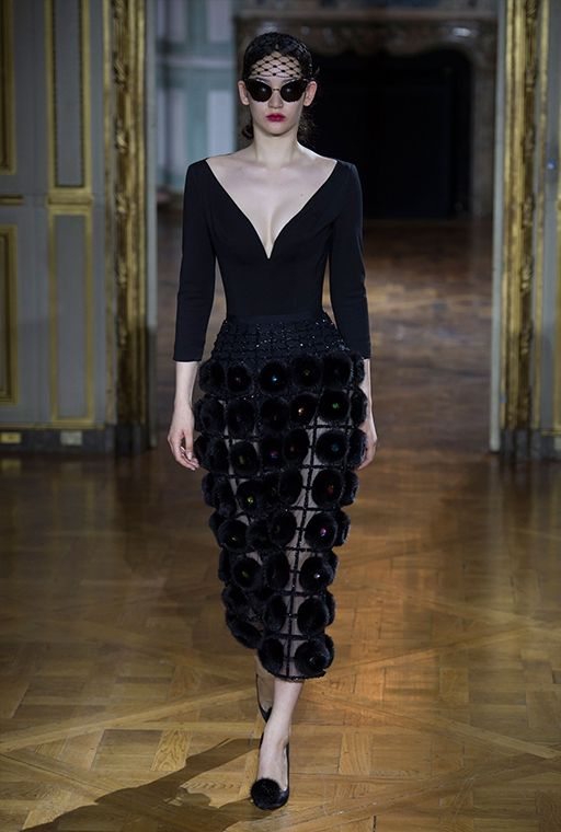 Неделя высокой моды в Париже: Ulyana Sergeenko, осень 2015, Buro 24/7