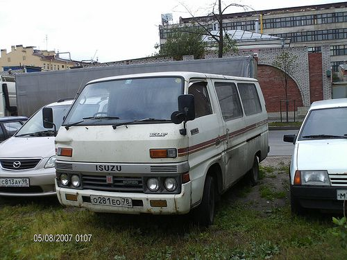 Isuzu Elf 150 Flataut Routs Van Super 1985 01 08 07 Van Japanese Cars Car
