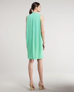 T4PSB Raoul Draped-Back Dress