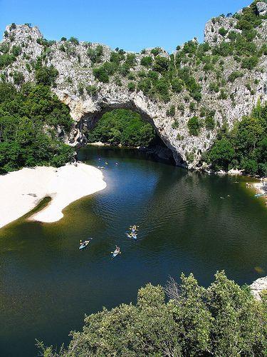 Vallon Pont d'Arc, Ardèche I France