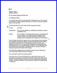 Employment Offer Letter - Job offer letter sample for offering ...