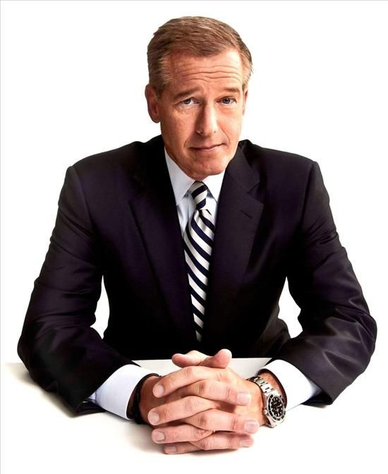 Brian williams wears rolex submariner watch celebrity watches pinterest watches brian for Celebrity wearing rolex