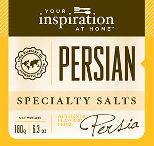 Mouthwatering and refreshing combination of sea salt, saffron and citrus notes. Great for seafood, salads, poultry and rice.