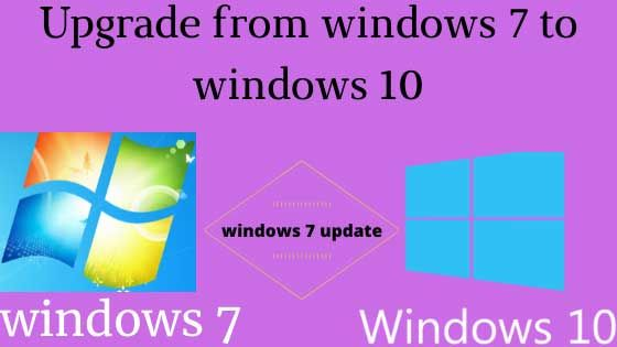 Upgrade From Windows 7 To Windows 10 In 2020 Windows 10 Microsoft Windows Operating System Windows