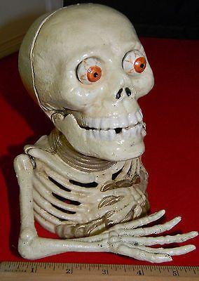 Reproduction-Cast-Iron-Skeleton-Mechanical-Bank