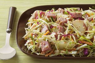 Corned Beef, Potato and Cabbage Salad recipe