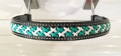 Browband with Lacing