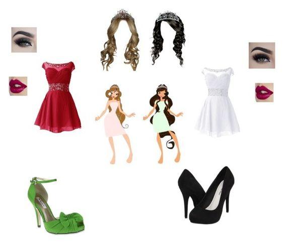 """Wedding dress"" by theglittergamer on Polyvore featuring Nadri, Eyeko, Michael Antonio and Nina"