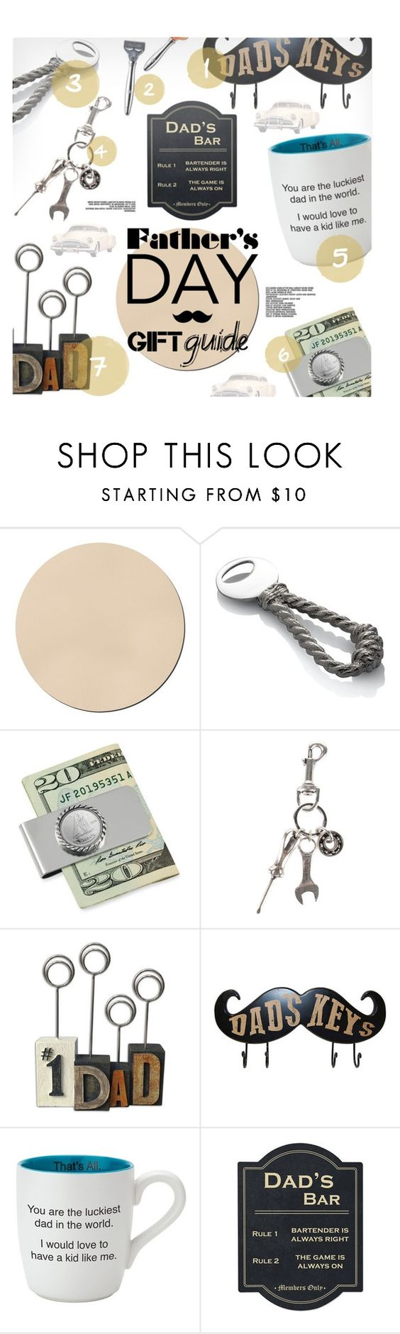 """""""Father's Day Gift Guide"""" by stacey-lynne ❤ liked on Polyvore featuring Michael Aram, American Coin Treasures, Diesel, Christian Brands Gift, Cathy's Concepts, men's fashion and menswear"""