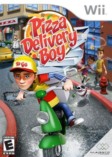 Pizza Delivery Boy - Nintendo Wii by Majesco Sales Inc.