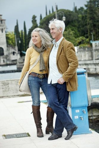 Modern Couple Over 50:
