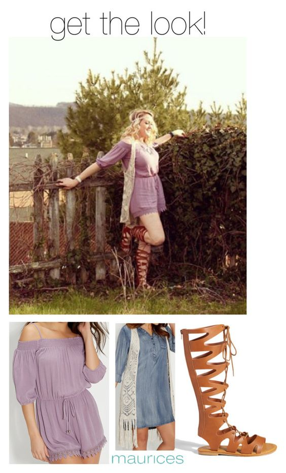 """get the look: boho chic!"" by maurices ❤ liked on Polyvore featuring maurices"