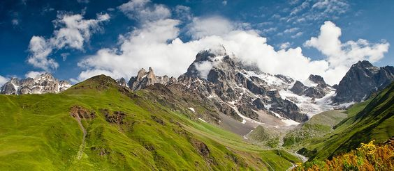 Svaneti, Georgia - Main Caucasus ridge