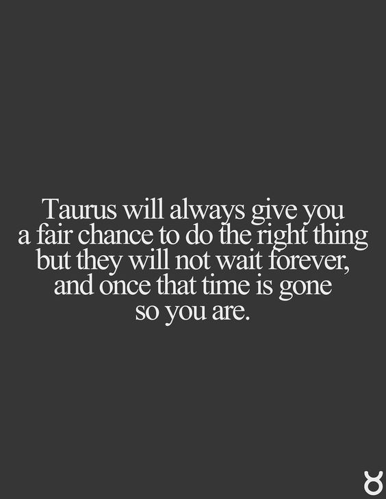 relationships should wait taurus