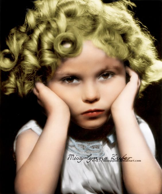 Miss Shirley Temple by MissyLynne