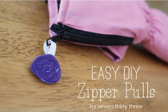 Did your zipper pull break in half, or off completely?  Here's an easy fix!
