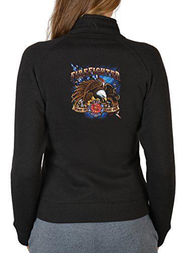 Damen Zip Sweater Feuerwehr Damen Zipsweater : Fire Fighter -- bedruckter Damen Zip Sweater Größe M Farbe schwarz Unbekannt http://www.amazon.de/dp/B0182QJB3U/ref=cm_sw_r_pi_dp_sUZWwb1KGP31H