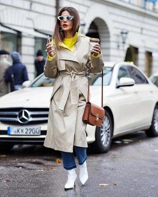 Cómo combinar una gabardina en beige (279 outfits) | Outfits